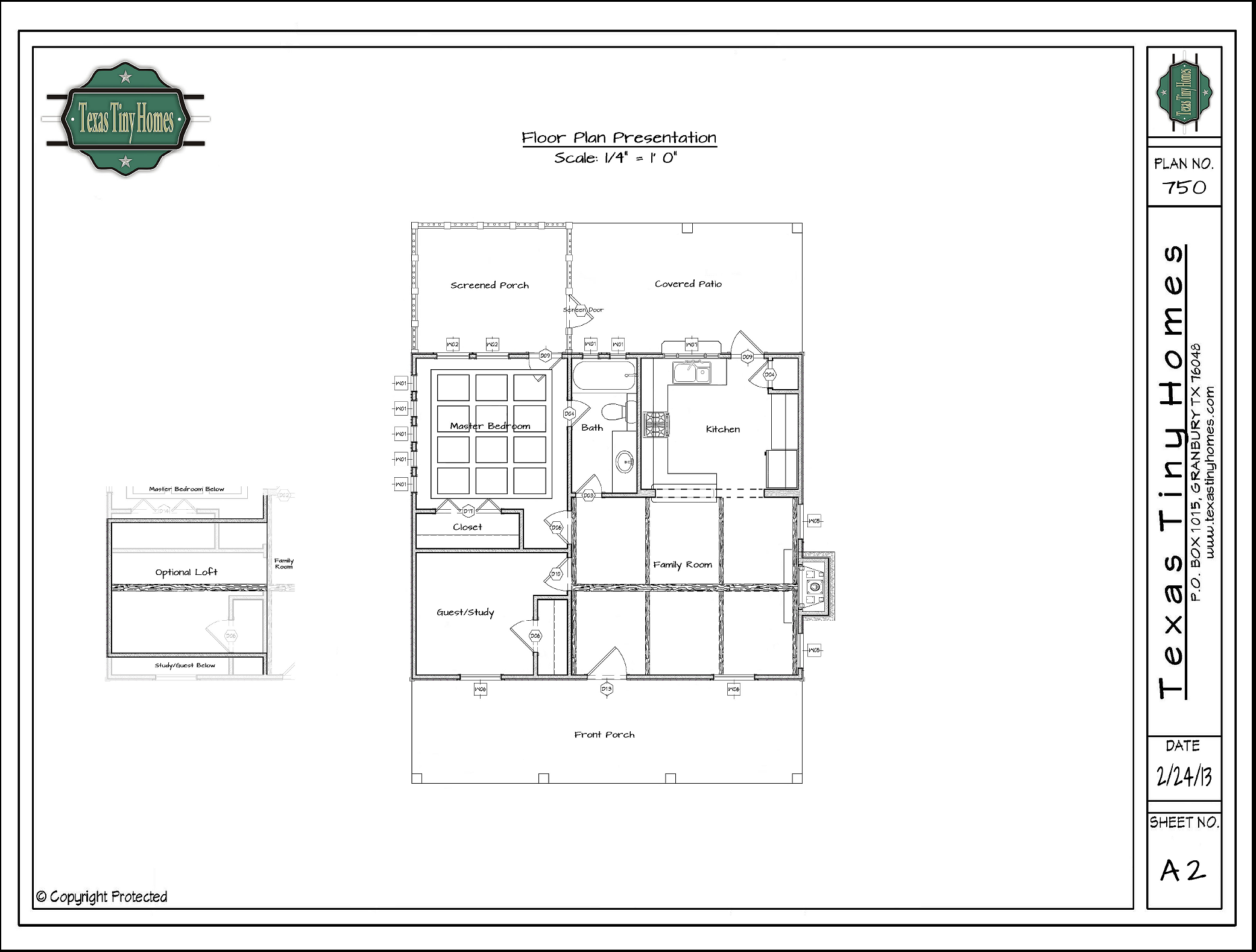 Texas Tiny Homes – Floor Plan Design For Small Houses